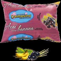 Cremosino sabor Açaí com banana